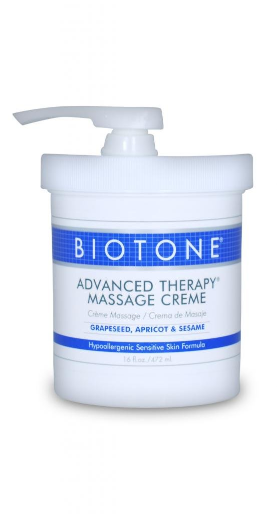 Biotone Advanced Therapy Massage Creme, 16 Ounce by Biotone