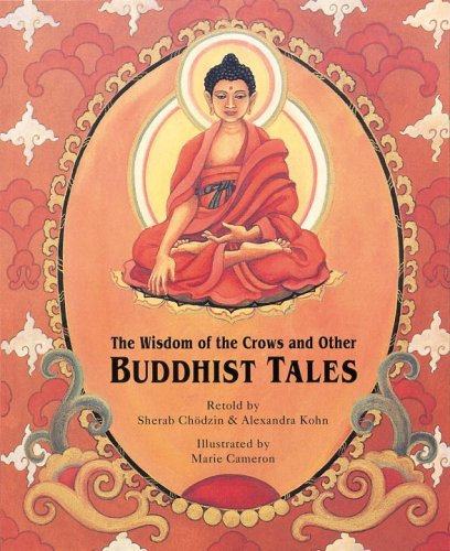 The Wisdom of the Crows and Other Buddhist Tales (Turtleback School & Library Binding Edition) by Turtleback Books (Image #1)