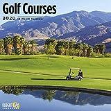 Golf Courses Wall Calendar 2020