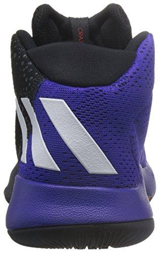 adidas Unisex-Kinder Crazy Heat J Fitnessschuhe, EU Schwarz (Schwarz - (NEGBAS/FTWBLA/NEGBAS))