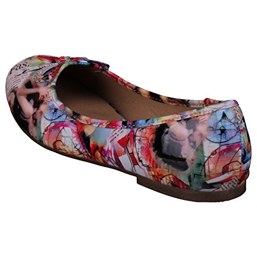 Multicolore donna Ballerine amp; Shadow Sun wqXSx