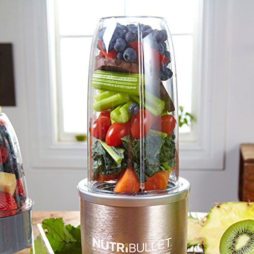 -[ NutriBullet Pro 900W Juicer Fruit Blender Smoothie Maker 9 Piece Set with FREE Natural Healing F