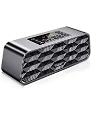 Bluetooth Lautsprecher SUMGOTT Mobiler Digital FM Radio, MP3 Player Portabler Wireless Speaker   Mains Powered   Langlebige Wiederaufladbare Batterie   Laut Volumen   Premium Stereo Sound