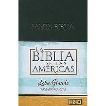 Lbla Biblia Letra Grande Tamaño Manual