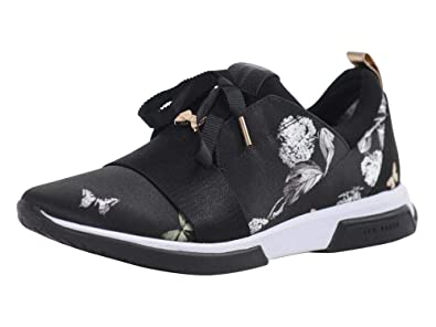 45332bbf0 Amazon.com  Ted Baker Women s Cepap Black Narnia Sneakers Shoes Sz ...