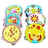 Toy Instrument,Kid New Musical Jingle Percussion Tambourine Hand Bell Gift➪Laimeng