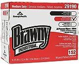Brawny Industrial White Premium All Purpose DRC Wiper (Box of 152)