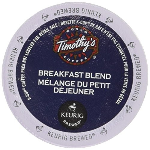 Timothy's Breakfast Blend Coffee, K-Cup Portion Pack for Keurig Brewers (24 (Timothys Breakfast Blend Coffee)