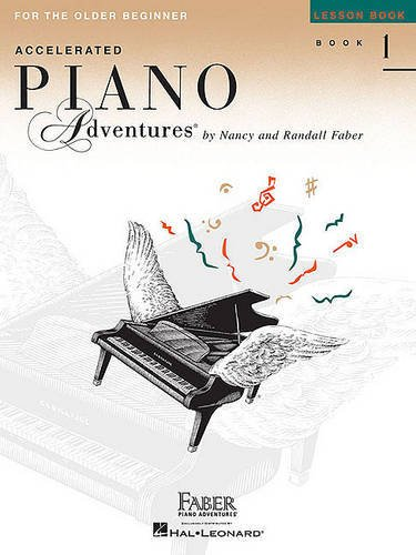 1 Lesson - Accelerated Piano Adventures for the Older Beginner: Lesson Book 1