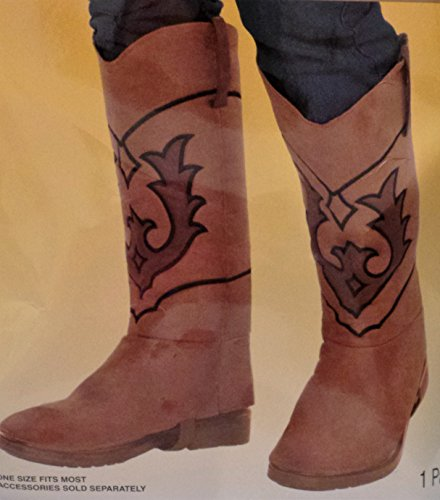Amscan COWBOY BOOT COVERS MALE by Amscan