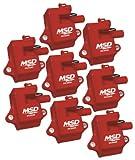 MSD 82858 Multiple Spark Coil, (Set of 8)
