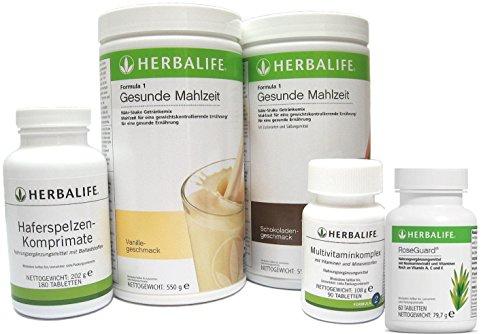 Herbalife Programm zum Abnehmen - 5teilig - 6 Geschmacksrichtungen zur Auswahl
