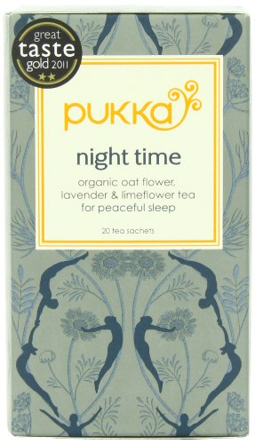 Pukka Organic Teas Night Count