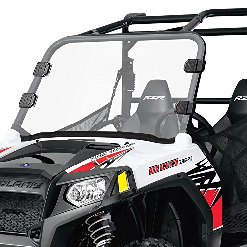 Polaris RZR Front Full Windshield - Polaris UTV Clear Windshield for 12-18 RZR 570, 08-14 RZR, 09-14 RZR S 800, 10-14 RZR 4 800, 11-14 RZR XP 900 & 12-14 RZR XP 4 900