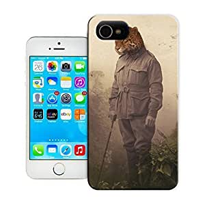 THYde Unique Phone Case Collage art Cheetah People Hard Cover for iPhone 5c cases-buythecase ending