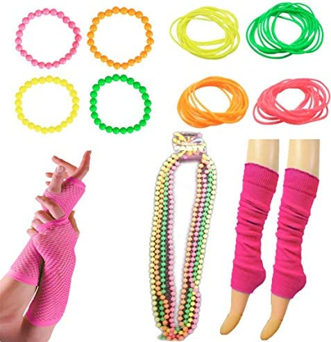 Neon Accessories for Dance Hen Stag Fancy Costume Accessories Kids Women