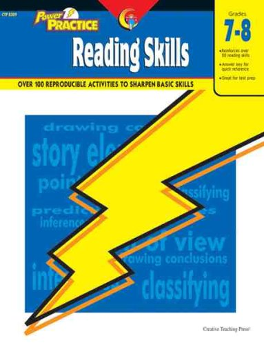 Reading Skills, Gr. 7-8 (Power Practice)