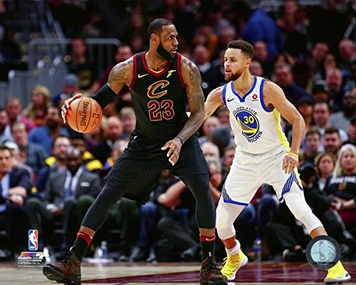 Cavaliers Wall Framed (Cavaliers/Warriors LeBron James v. Steph Curry 8