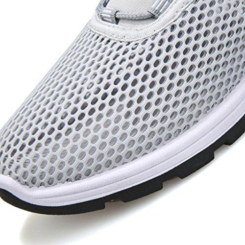 Estive Running Scarpe Da Sneakers Unisex Uomo Grigio Ginnastica Lavoro Donna Sportive Corsa Beautyjourney wSE5Txqw