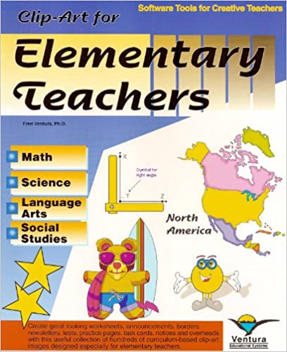 Workbook elementary art worksheets : Amazon.com: Clip-Art for Elementary Teachers (9781571160201): Fred ...