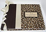 Bridal Shower Guest Book - Cheetah Guestbook - Leopard Guest Book - Animal Print Guest Book