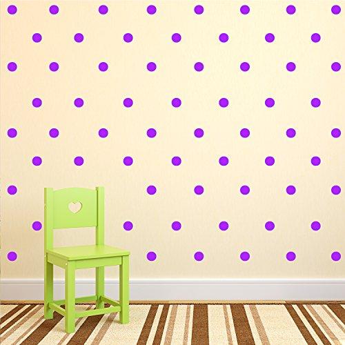 (200 Pack Fun Polka Dots Pattern - Wall Art Decal - 1