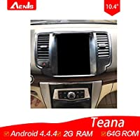 10.4Inch Android 4.4.4 Multimedia Player for Teana 2009-2012 Auto GPS Navigation GPS+Mirrorlink+BT+Radio+AUX IN+DVR