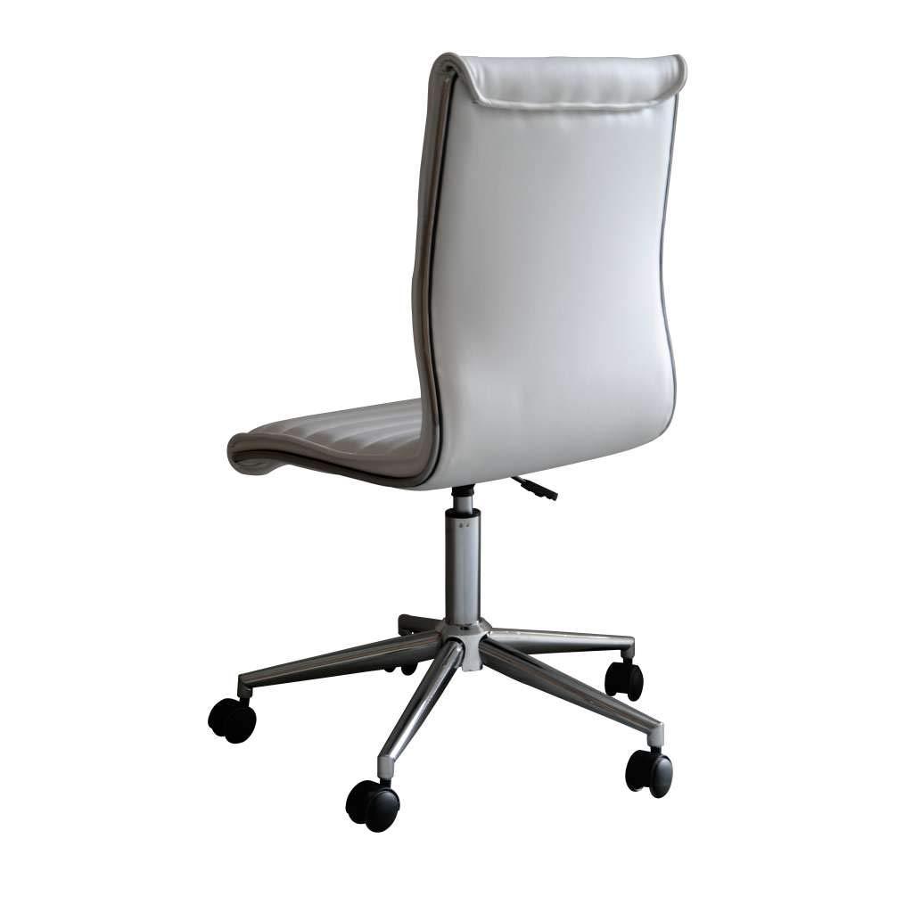 dbfc744b2 Cadeira de Escritório Secretária Giratória Marilyn Plus Branca   Amazon.com.br  Casa
