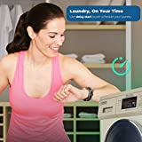 """Equator 2020 24"""" Combo Washer Dryer Silver"""