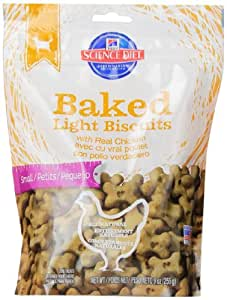 Amazon Com Hill S Science Diet Baked Light Biscuits With