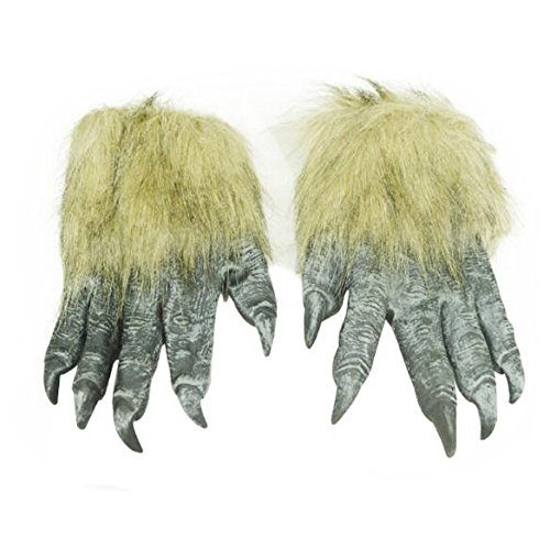 EBTOYS Hairy Hands Animal Paw Gloves Werewolf Wolf Paw Monster Costume Accessories