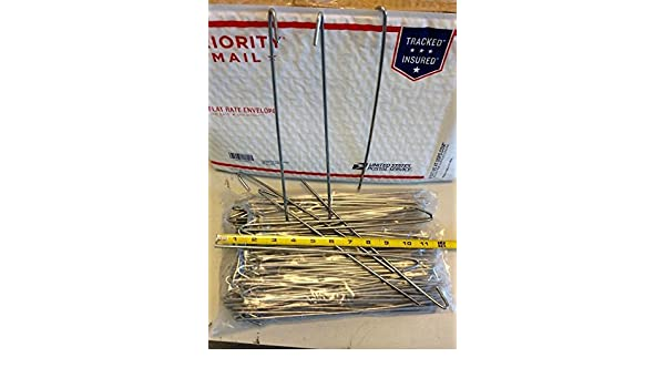 """100 bag Tie wire wires 10-1//2/"""" for Chain Link Fence  Master Halco 100 pc 9 gauge"""
