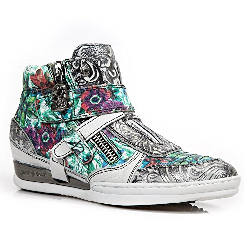 New Rock Hybrid Blanc Chaussures M.HY032-S20