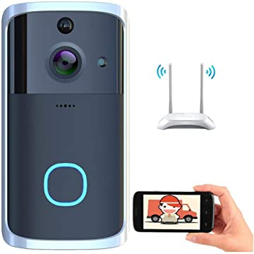 Kaimu Visual WiFi Doorbell Intelligent Electronic Surveillance Camera Anti-Theft Household Kits