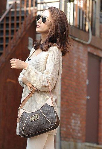 Accents Off Leather white Hobo Handbag qdWCwzxtC