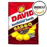 David Bar-B-Q All Natural Roasted & Salted Sunflower Seeds 5.75 oz New