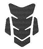 honda carbon fiber tank pad - 3D Motorcycle Motorbike Racing Fuel/Oil/Gas Tank Decals vinyl and gel sticker Pad Gas Cap Carbon Fiber Tank Pad Protector For Honda Suzuki Kawasaki Yamaha TNKP019F Carbon F