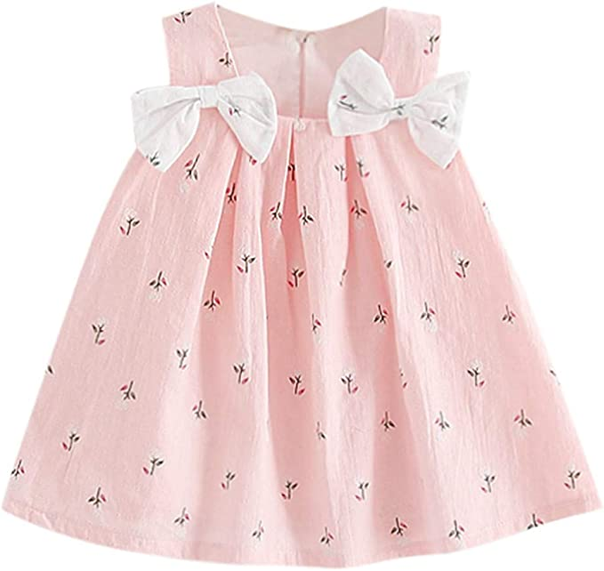 Toddler Kids Baby Girls Christmas Xmas Princess Party Dress Fleece Outfits fz