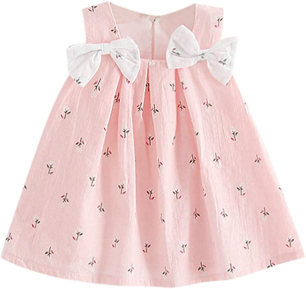 2 years 18-24 months Girls summer chiffon Dress with Legging in White Pink size