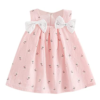 bcf5619e070f5 Image Unavailable. Image not available for. Color: Infant Toddler Baby Girls  Kids Dresses Cuekondy Summer Star Elephant Print ...