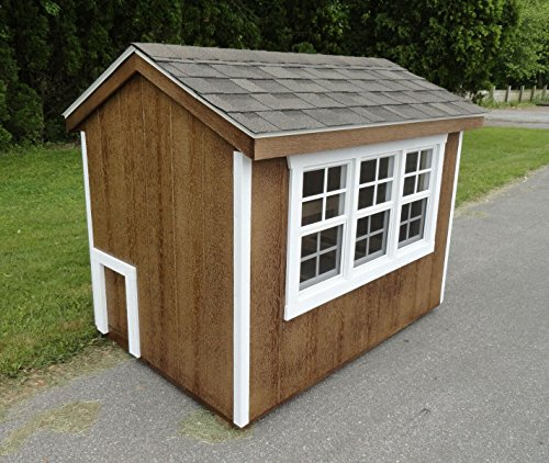A-L-Furniture-9300-Unfinished-Henny-Penny-Chicken-Coop-P9300