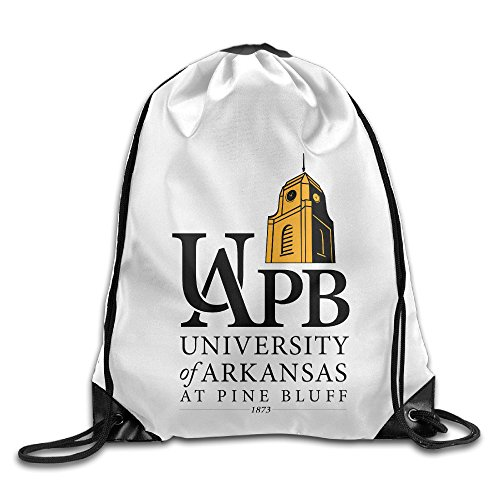 Bekey University Of Arkansas At Pine Bluff Gym Drawstring Backpack Bags For Men & Women For Home Travel Storage Use Gym Traveling Shopping Sport Yoga - Arkansas Shopping Fayetteville