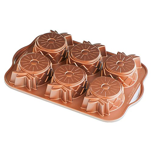 Nordic Ware Pineapple Upside Down Mini Cake Pan by Nordic Ware