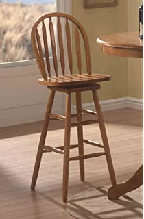 Coaster Home Furnishings Contemporary Bar Stool, Oak