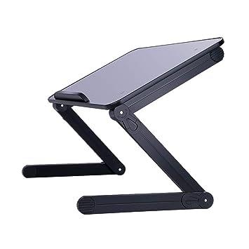 Ordenador portátil Cama con Mesa pequeña Dormitorio de la Universidad Mesa de Soporte abatible Perezosa Escritorio