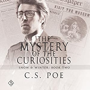 Audio Book Review: The Mystery of the Curiosities by C. S. Poe (author) and Derrick McClain (narrator)