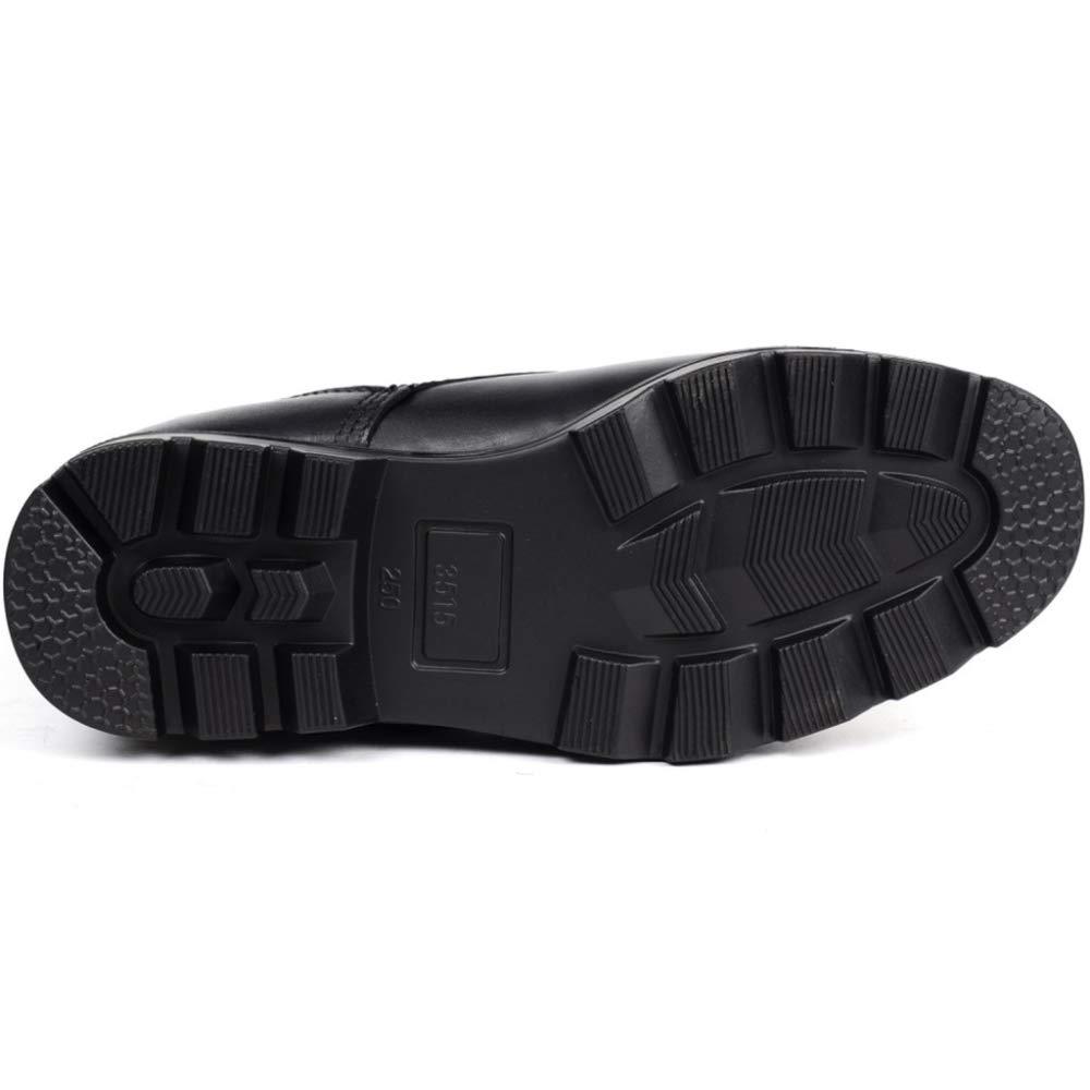 Botas Negras De Plataforma con Cordones para Hombres Que Que Que Ayudan A Escalar En El Exterior Botas Antideslizantes Antideslizantes Resistentes Al Desgaste 3f5ce2