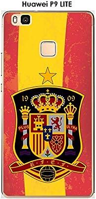Onozo Carcasa Huawei P9 Lite Design Foot España Fondo Bandera: Amazon.es: Electrónica