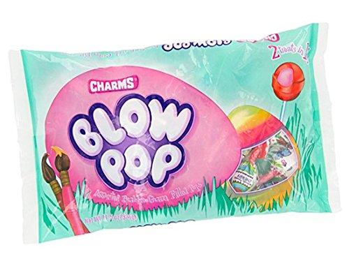 Charms Candy Blow Pops Bubble Gum Filled Lollipops, 11.5 oz