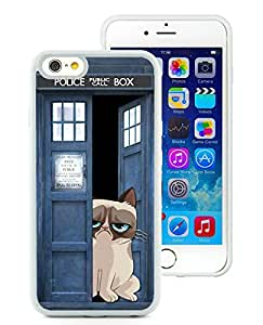 Grumpy Cat For iPhone 6 (4.7) White TPU Case Cover